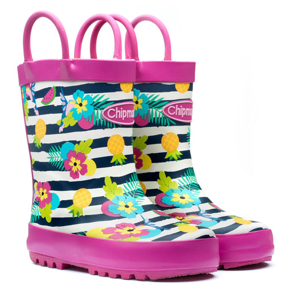 Girls Tropical 'Carmen' Wellies