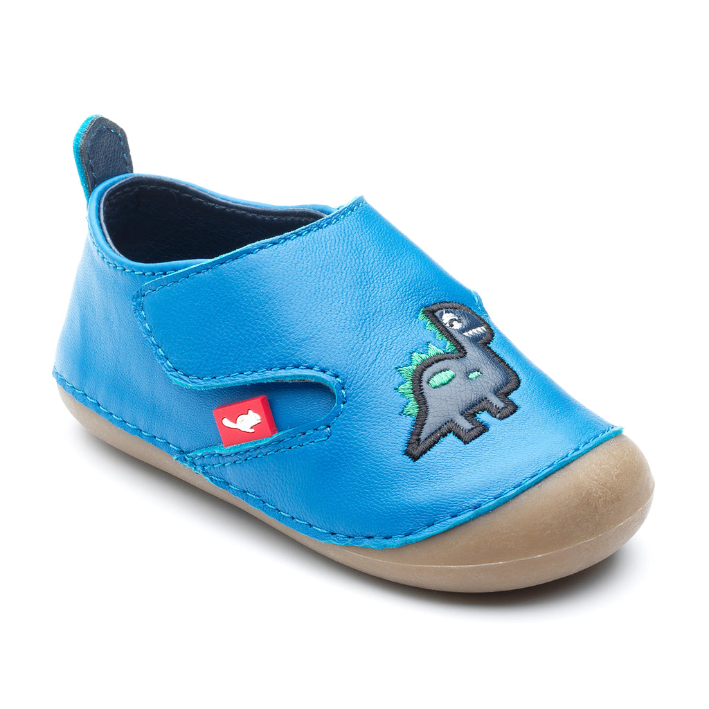 'Dara' Pre-Walking Shoe With Dinosaur Character