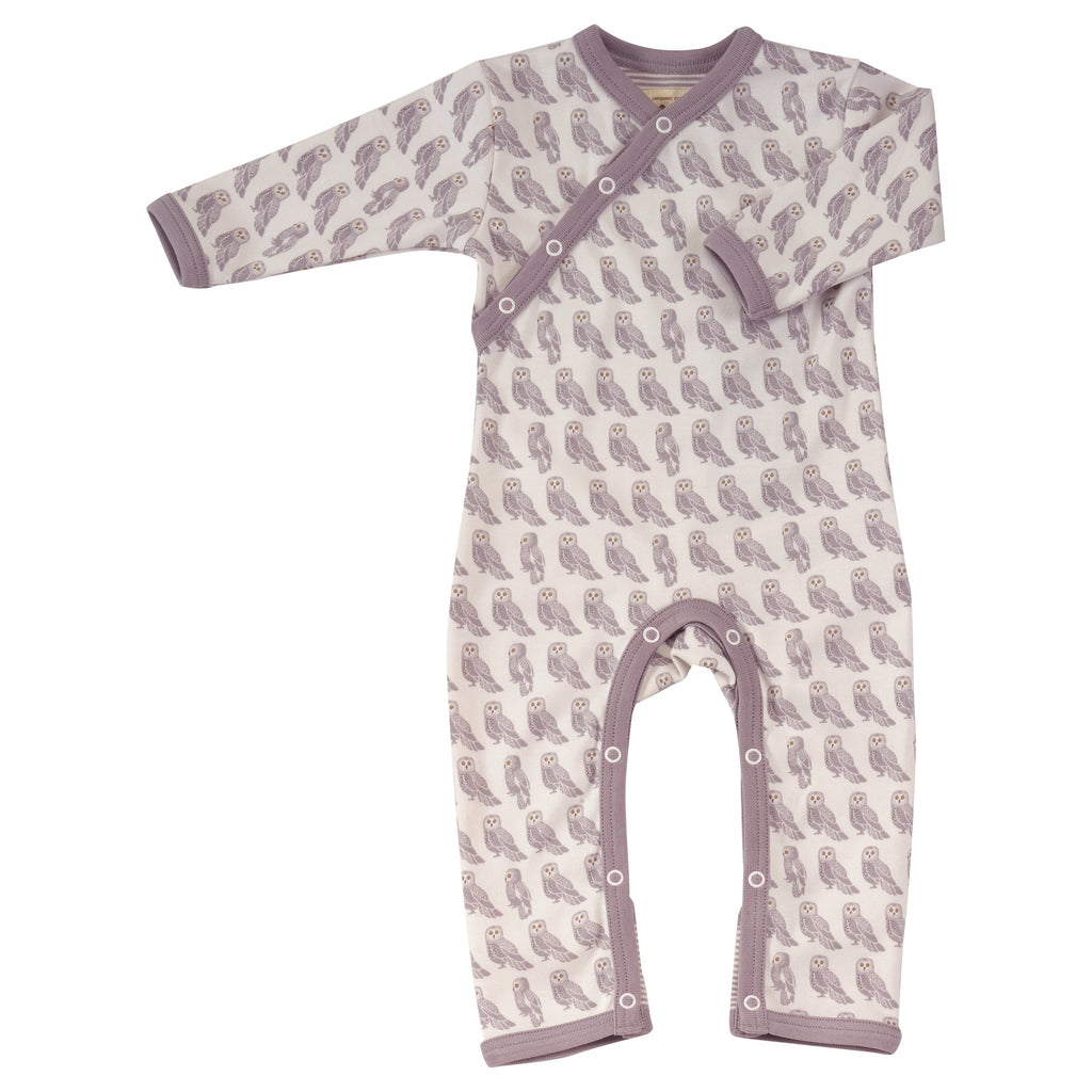 Pigeon Organics Owl Romper - beautiful, ethical, organic