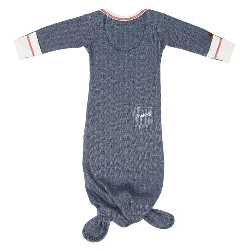 Organic Cottage Knotted Nightgown - birth to 3 months