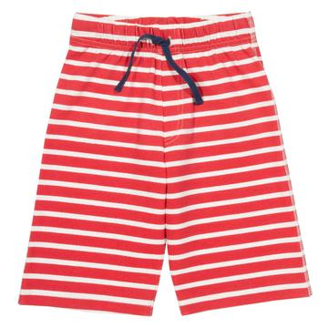 Corfe shorts in red stripe by Kite