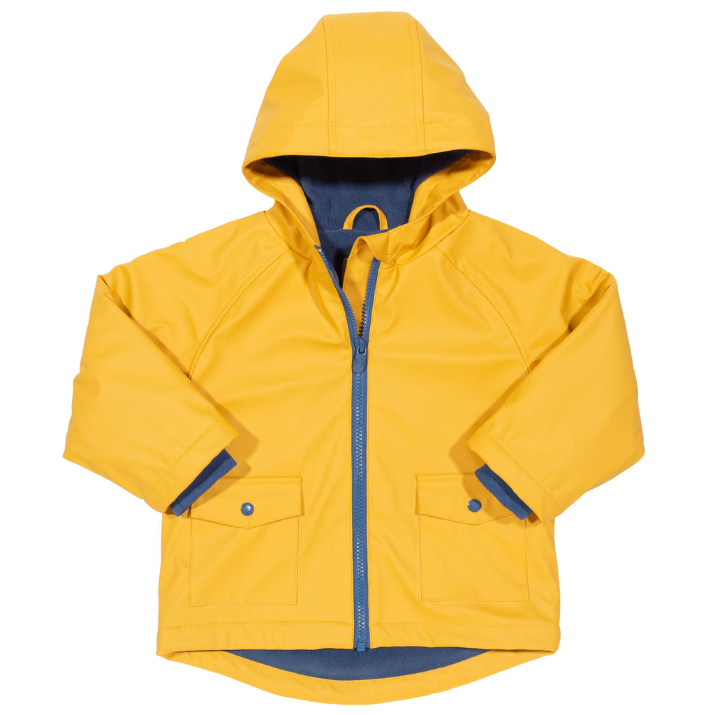 Kite Waterproof Splash Coat - Sailor Style in Mustard Yellow