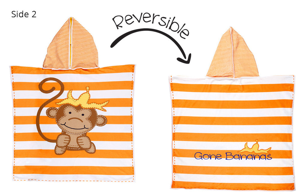 Reversable Beach Cover-up - UPF 50+