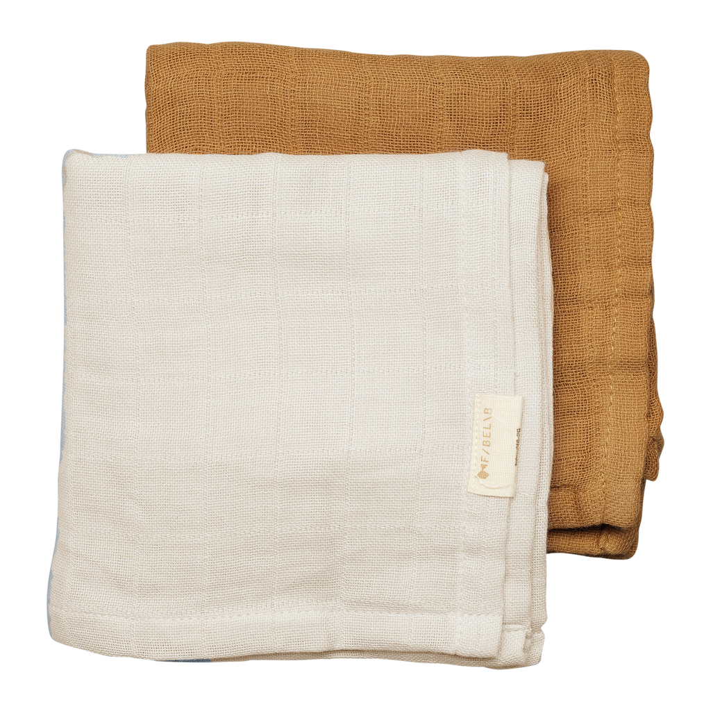 Muslin Cloth 2 pack - 100% organic cotton