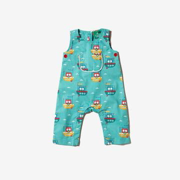 Lost At Sea Dungarees - Little Green Radicals