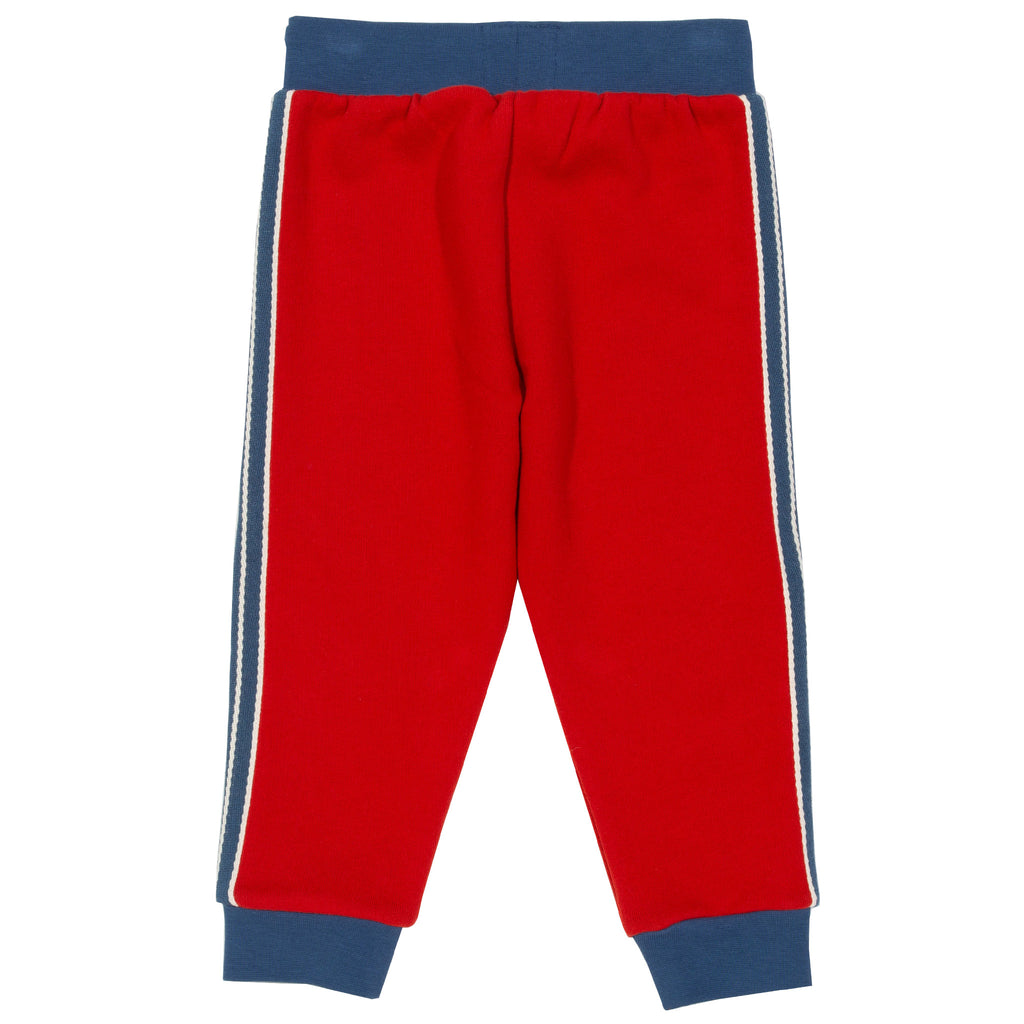 Side stripe joggers - 100% organic cotton from Kite