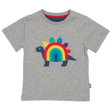Rainbow-saurus t-shirt by Kite