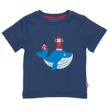 Wonder Whale t-shirt by Kite