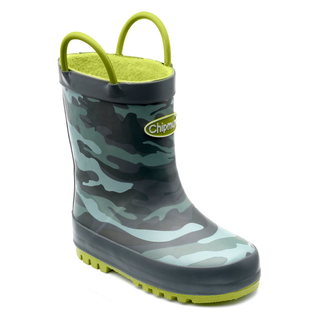 'Troop' Camo Print Wellies