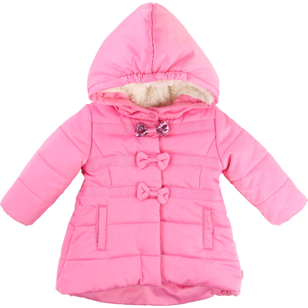 Billieblush - Baby Girls Pink Waterproof Coat, 6m