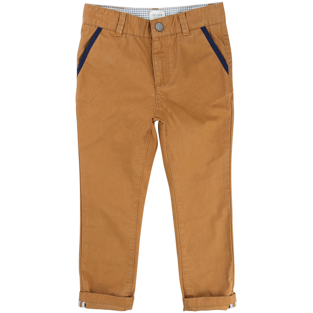 Carrement Beau - Boys Tan Chino Trousers, 12y