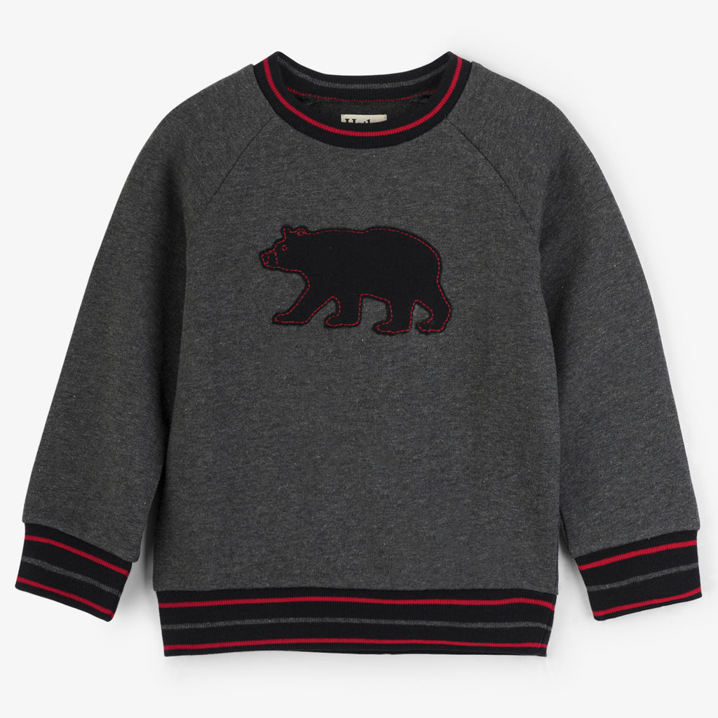 Black Bear Pullover Sweatshirt