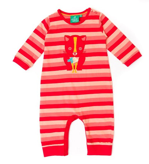 Little Green Radicals - The Bell & The Cat Babygrow, 6-9m