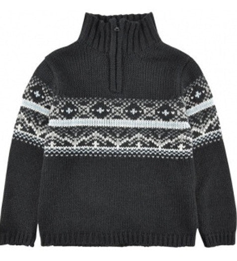 3 Pommes - Black Knitted Jumper