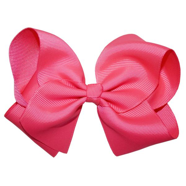Shocking Pink Large Boutique Hair Bow