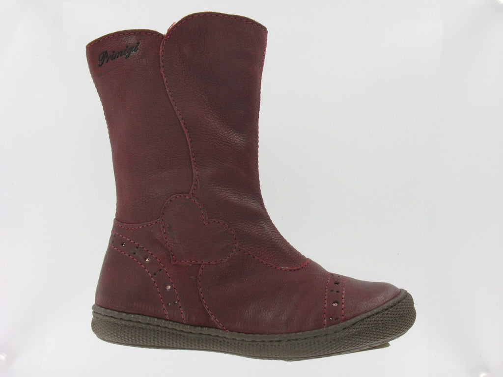 Girls 'Britte' Boot in Maroon