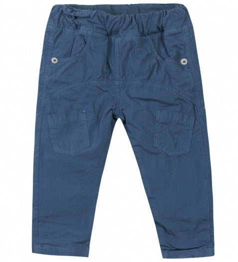 Toddler Boys Dark Blue Cargo Trousers