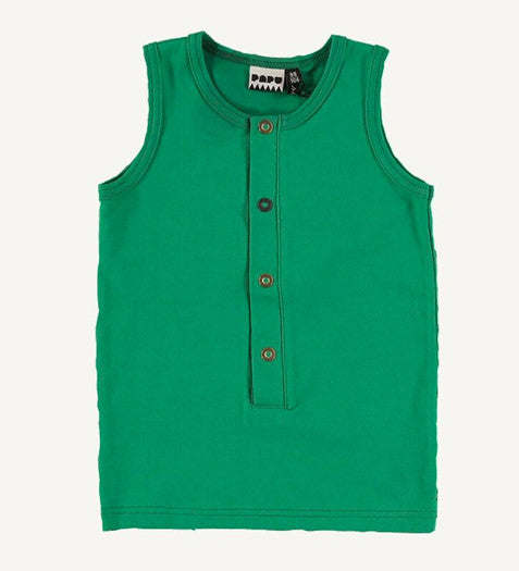 Cucumber Green Sleeveless Top