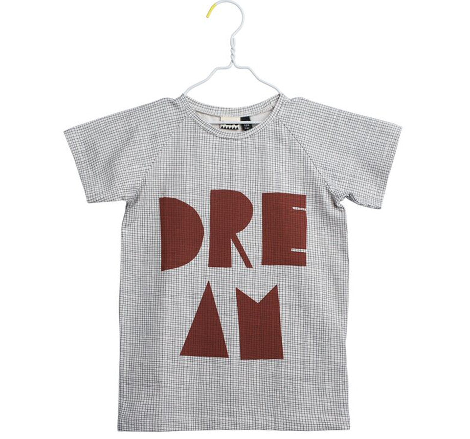 Papu - Dream T-Shirt with Mesh Print, 11-12y