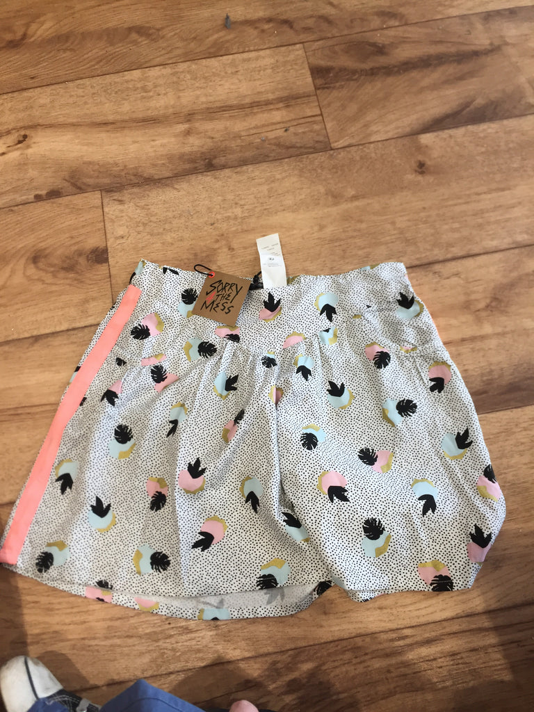 Sorry 4 the Mess - Girls print shorts