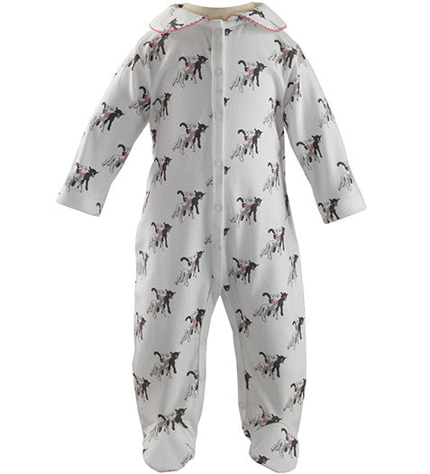 Rachel Riley - Baby Girls Lamb Babygrow, 12m
