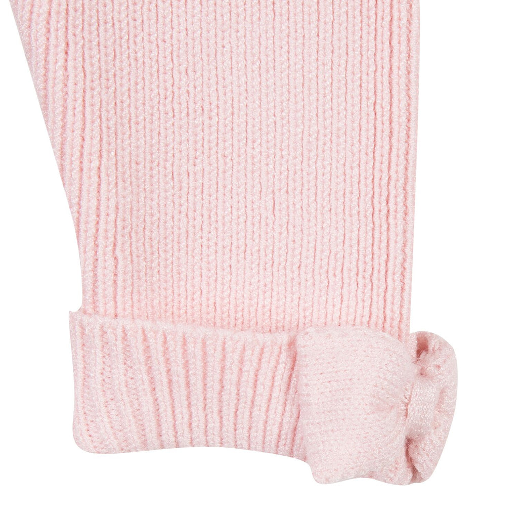 Pale Pink Knitted Baby & Toddler Leggings