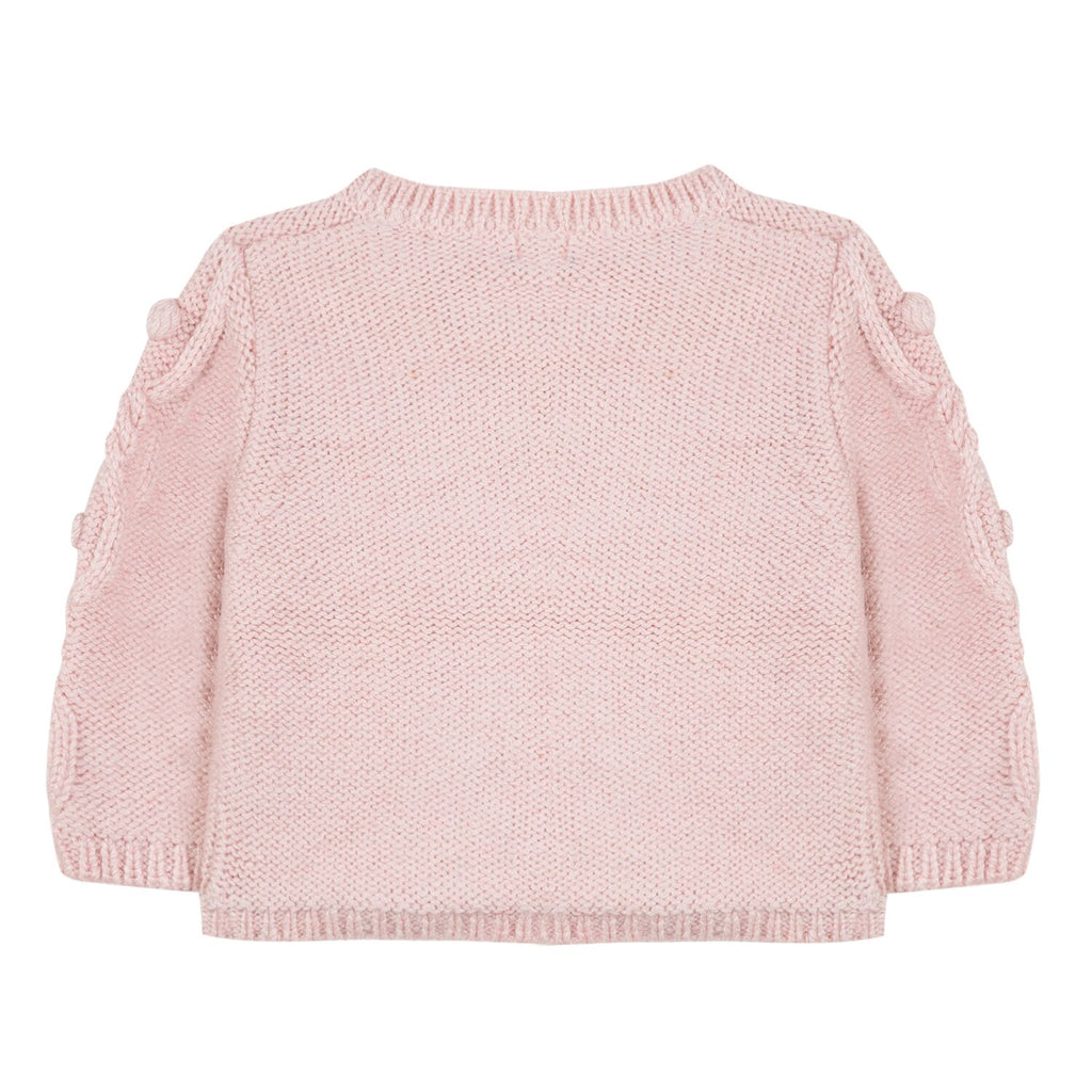 Vintage Pink Knitted Cardigan