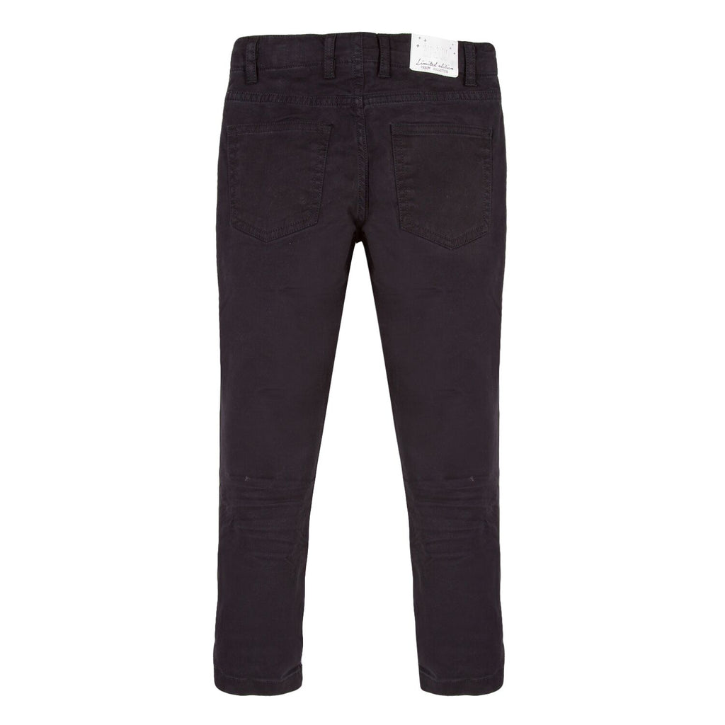 3 Pommes - Slim Fit Black Chinos