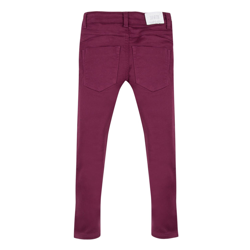 Boys Dark Red Jeans