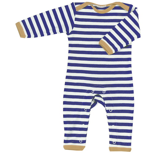 Pigeon Organics Nautical Stripe Romper - beautiful, ethical, organic