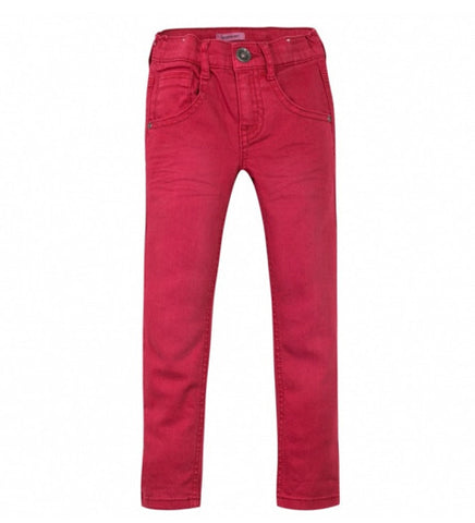 Boys Red Brick Stonewash Jeans
