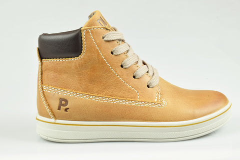 Tan 'Roland' Boys Nubuck Boot