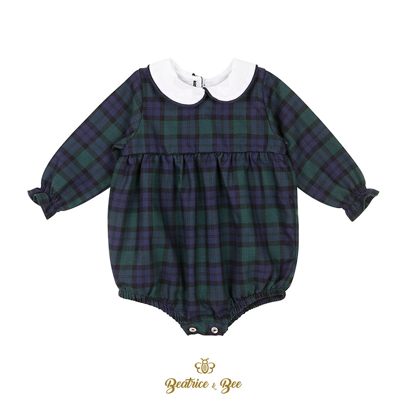 Scotland unisex baby romper from Beatrice & Bee