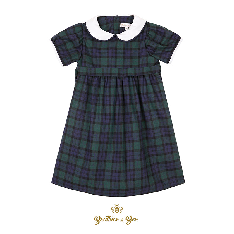 Scotland tartan dress from Beatrice & Bee
