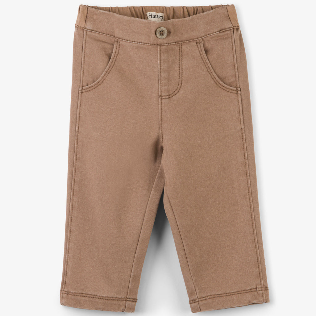 Hatley - Baby & Toddler Tan Chinos, 3-6m