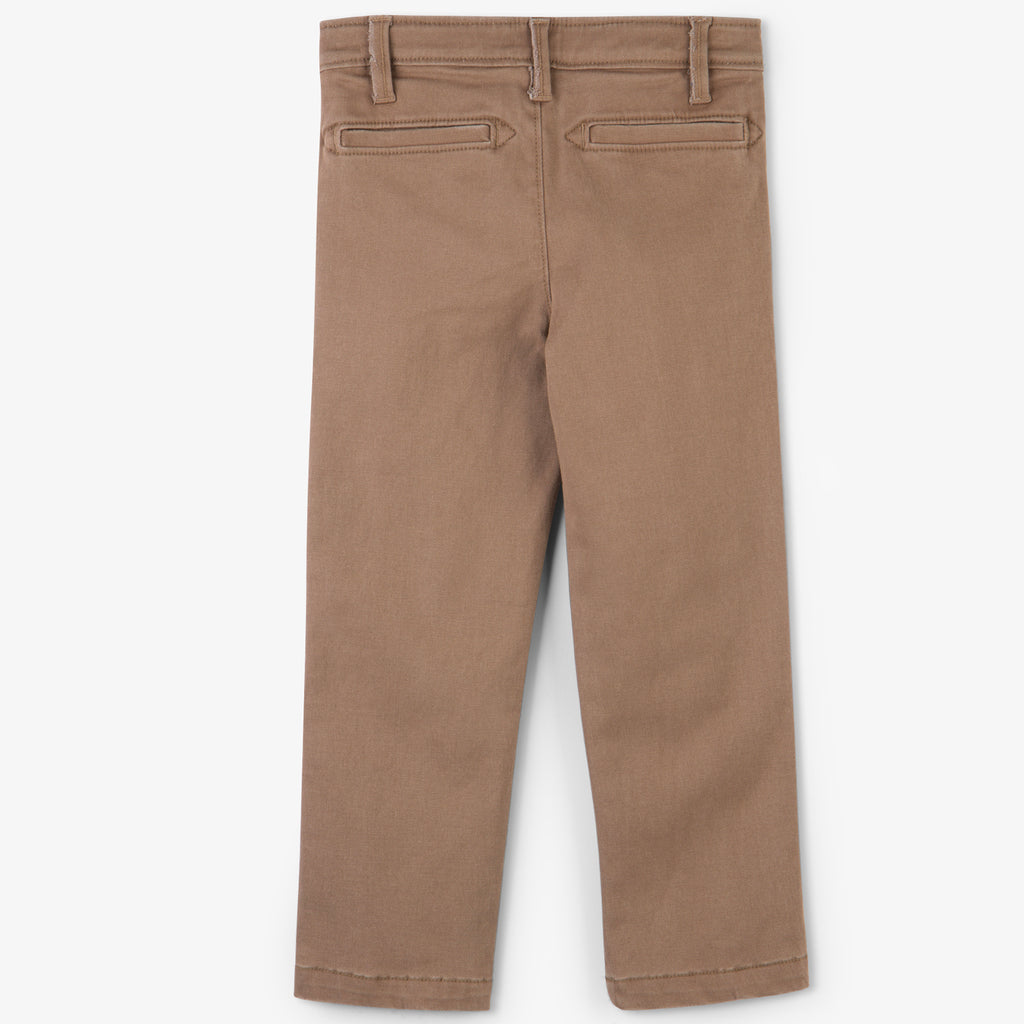 Hatley - Straight Cut Tan Chinos, 8y