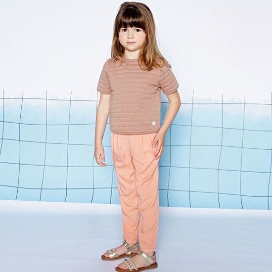 Pale Pink Summer Trousers