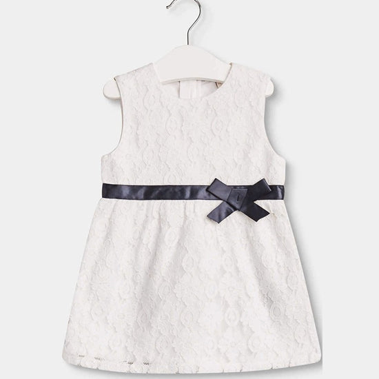 Esprit - Baby & Toddler Girls Broderie Anglaise Dress, 6, 18 & 24m