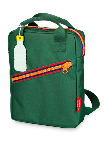ZIPPER Backpack  - Green/Small
