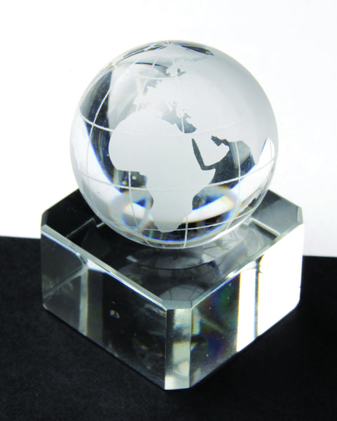 Clear Crystal Globe Marbles 30mm