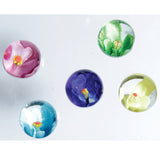 Holly Hock Handmade Marbles - 22mm