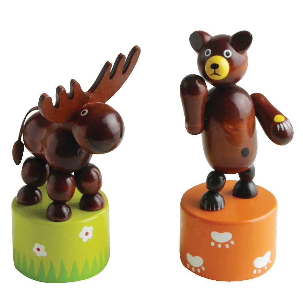 Wobbly Bears and Moose