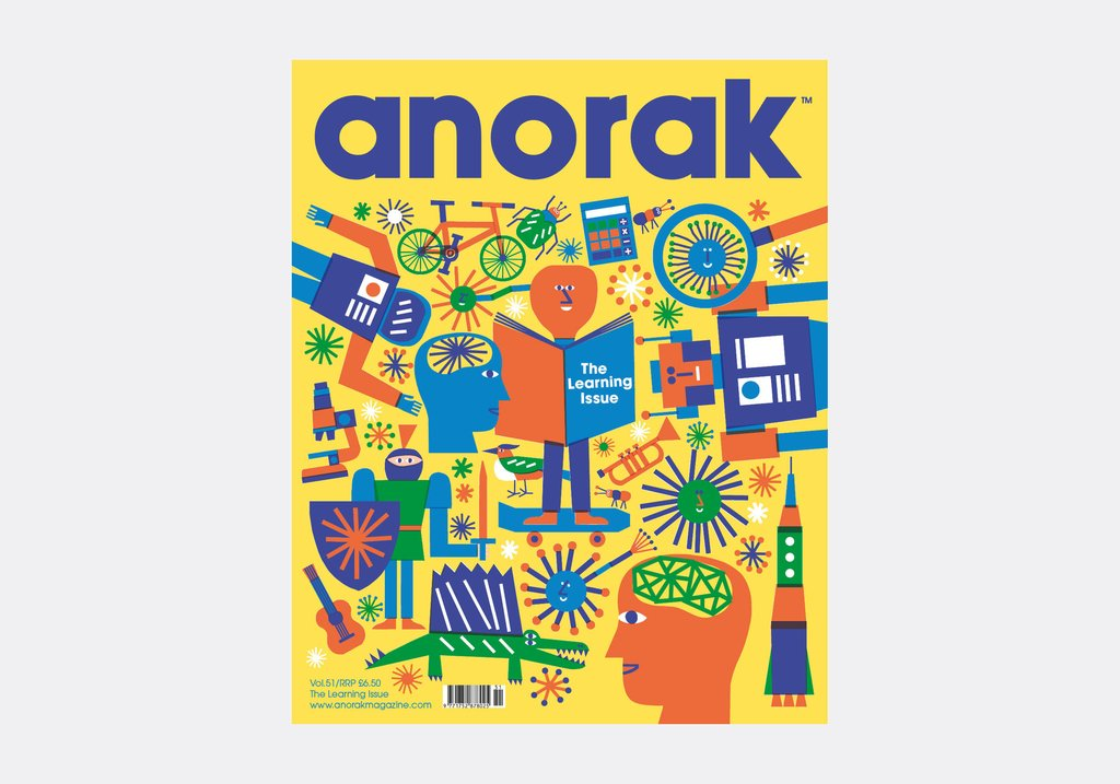 ANORAK - The Learning Issue