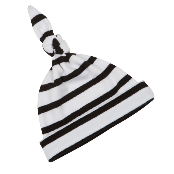 Breton Stripe - Black and White -  Hat