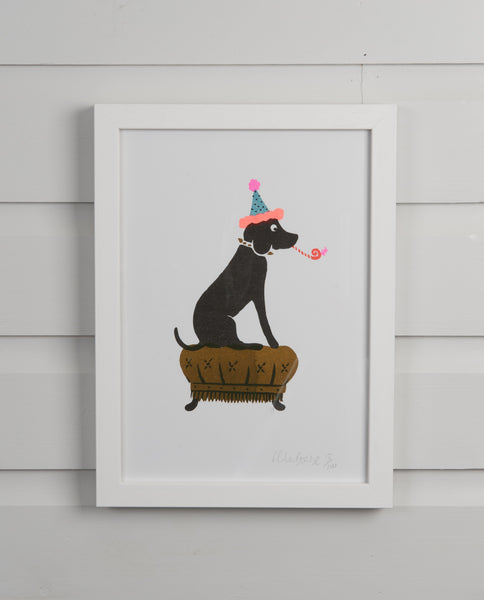 Party Dog Print