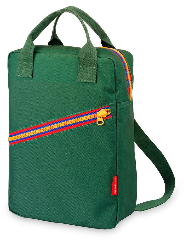 ZIPPER Backpack  - Green/Large