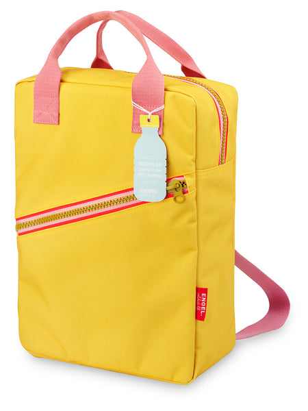 ZIPPER Backpack  - Yellow/Large