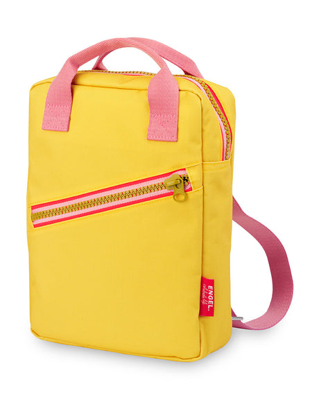 ZIPPER Backpack  - Yellow/Small