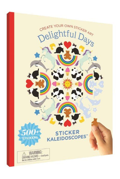 Kaleidoscope Sticker Book