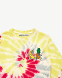 Tie Dye Pineapple and Banana Sweat